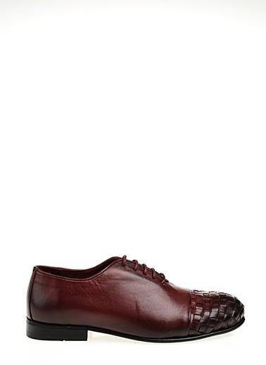 Faruk Sağın %100 Deri Casual Ayakkabı Bordo